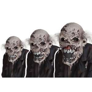 Lets Party By California Costumes Zombie Ani Motion Adult Mask / Gray
