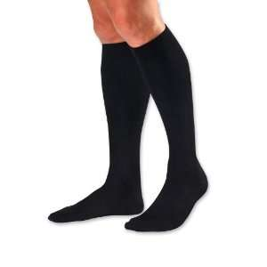 One Each Jobst for Men Dress Socks, 8   15 mmHg Mens Shoe 10 1/2 12 1