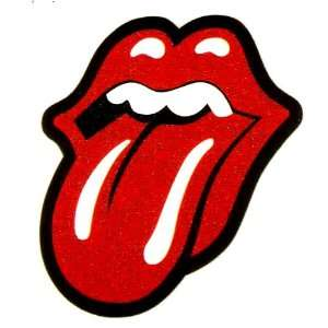 Rolling Stones red lips and tongue logo Iron On Transfer for T Shirt