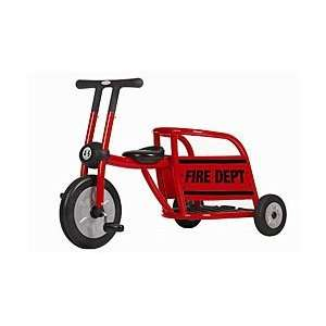 Italtrike Pilot Red Fire Truck Toy Tricycle Toys & Games
