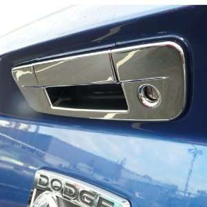 2009 2012 Dodge Ram Chrome Tail Gate Cover With Keyhole