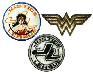 Set Zan Wonder Twins Patches Super Friends Superman