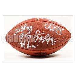 2012 PATRIOTS TEAM SIGNED AUTHENTIC NFL GAME FOOTBALL * ROB GRONKOWSKI