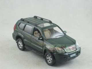 32 Toyota Land Cruiser PRADO green pull back car Metal Die Cast model