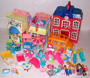 Fisher Price Sweet Streets Lot Buildings & Furnishings & Figures