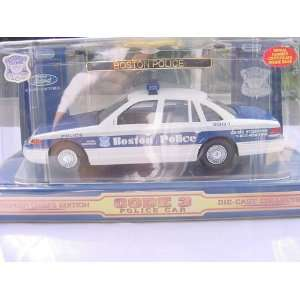 CODE THREE, 1/24 SCALE, BOSTON POLICE, FORD CROWN VICTORIA