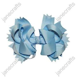 Funky Spike Baby Girl Hair Bows 24PCS hairbows wholesale Many
