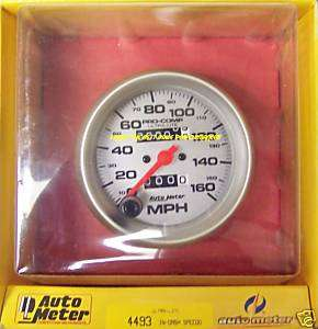 Autometer Ultra Lite Mechanical Speedometer #4493
