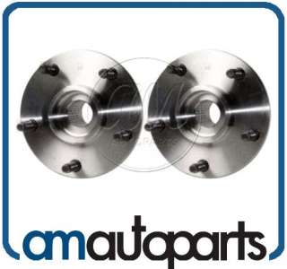 94 99 Dodge Ram 1500 Pickup Truck 4x4 Front Wheel Hub & Bearing Pair