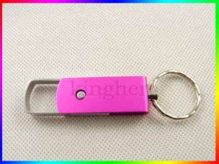 GB Fashion U disk Metal keychain USB 2.0 4G 4GB Flash Memory Pen