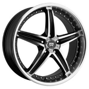 17 inch Motegi Racing MR107 black wheels rims 5x4.5 5x114.3 +45