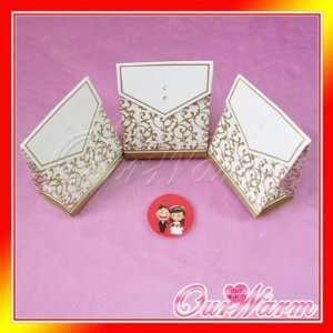 gold wedding party candy bombonier gift favor boxes Toys & Games