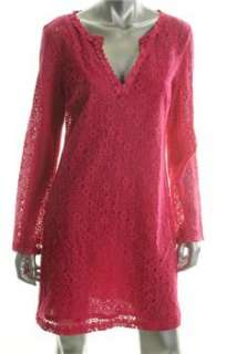 Trina Turk NEW Pink Versatile Dress Lace Sale 8