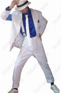 MICHAEL JACKSON SMOOTH CRIMINAL SUIT cosplay costume