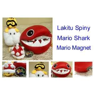 Shark, and Super Mario Bottle Cap Fridge / Locker Magnet Toys & Games
