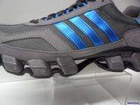 Adidas mens Running ~ F2011 M ~ new in box ~ graphite/blue ~ size 13