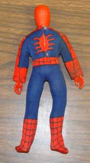 Spider Man WGSH Mego Action Figure Type 2 Worlds Greatest Super Heroes