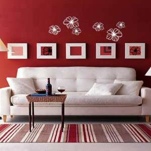 Flower Blossom Adhesive WALL STICKER Removable Decal