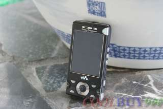 NEW SONY ERICSSON W995 8MP UNLOCKED 3G GPS WI FI BLACK CELL PHONE