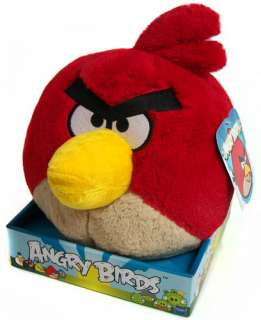 Rovio Angry Birds 8 Red Bird Stuffed Animal Plush Toy