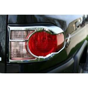 400852 Chrome Tail Light Cover for Select Toyota Models Automotive