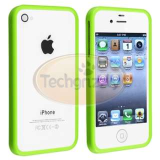 new generic tpu rubber bumper case compatible with apple iphone 4 4s