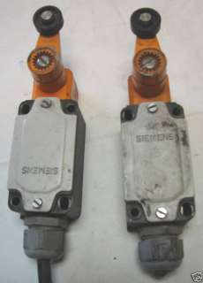 Siemens 3SE3 120 1GW Type GW Limit Switch Lot of 2