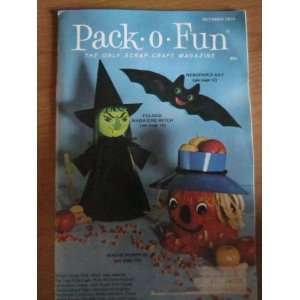 Pack o Fun Scrap Craft Magazine October 1974 Everything