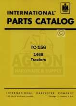 FARMALL International 1468 Tractor Parts Catalog Manual