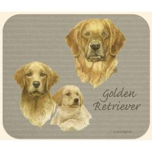 David Kiphuth Dog Breeds Golden Retriever Mousepad Mouse