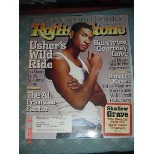 Rolling Stone Magazine May 13, 2004 Usher