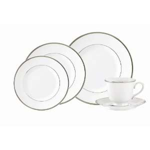 Royal Worcester Monaco Platinum Eight 5 Pc Place Settings