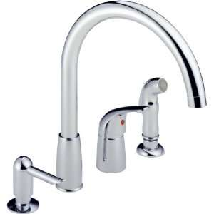 Peerless P88900LF Waterfall Single Handle Widespread Kitchen Faucet
