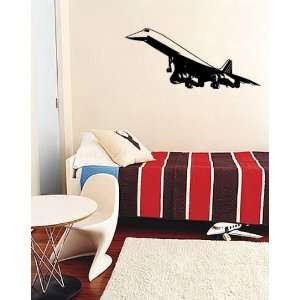 Vinyl Wall Art Decal Sticker Concord Plane