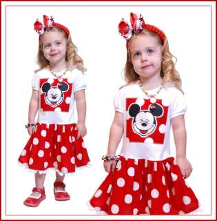 Boutique Handmade DISNEY Birthday Boy Girl Vacation OUTFIT OOAK eBD