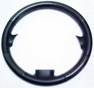 MAZDA 6 REAL LEATHER CARBON STEERING WHEEL COVER MAZDA6