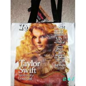 Taylor Swift tote bag purse   Rolling Stone magazine cover