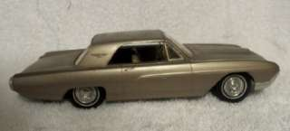 1963 Ford Thunderbird 2Dr Promotional Model Car