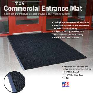 Commercial Entrance Mat   Indoor Outdoor Heavy Duty Entry Door
