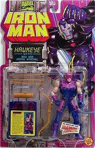 1994 Iron Man Hawkeye Toy Biz