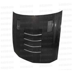 Ssii style Carbon Fiber Hood for 2005 2008 Ford Mustang