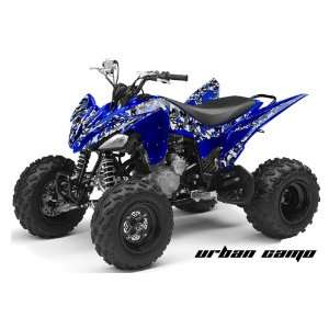 AMR Racing Yamaha Raptor 250 ATV Quad Graphic Kit   Urban