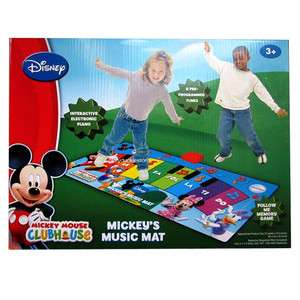 Disney Mickey Mouse Club House MUSIC MAT Tune Electronic Piano Ages 3