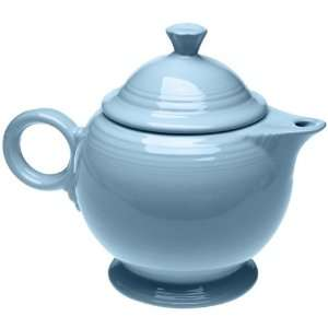 Homer Laughlin China Fiesta Periwinkle Blue Teapot 44 Oz