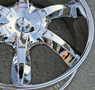 RVM 760 20 CHROME RIMS WHEELS DODGE INTREPID 300M