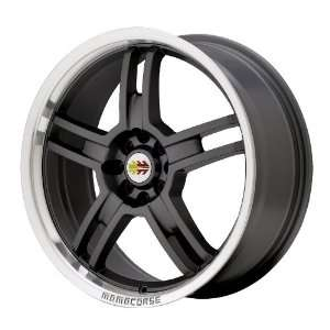 17x7 MOMO S Five (Black) Wheels/Rims 5x114.3 (SF70751442B