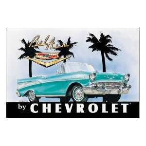 Kitchen Refrigerator Magnet Chevy Chevrolet Bel Air Car