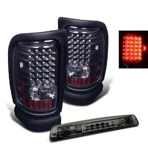 94 01 Dodge Ram Pickup LED Tail Lights + LED Brake Light Automotive