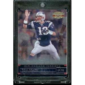2007 Donruss Gridiron Gear # 57 Tom Brady   New England