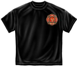 Fire Fighter shirt NEW Fire Rescue   Courage   Honor